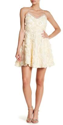 Laundry by Shelli Segal 3D Rosette Dress