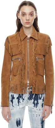 Diesel Black Gold Diesel Leather jackets BGPTH - Brown - 38