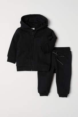 H&M Hooded jacket and joggers