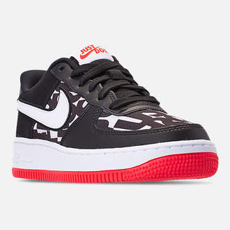 Nike Kids' Grade School Force 1 JDI Print Casual Shoes
