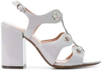 L'Autre Chose eyelets strappy sandals