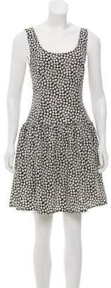 Cacharel Floral Print Mini Dress