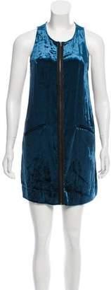 Vena Cava Silk-Blend Dress