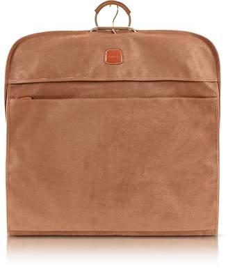Bric's Life Camel Micro-Suede Garment Bag