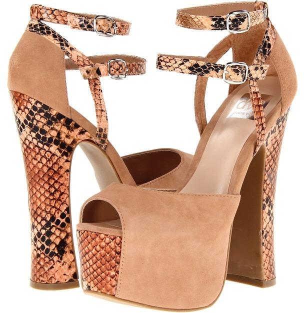 Dolce Vita Viena (Blush/Snake) - Footwear