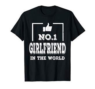 Family Shirt No. 1 Girlfriend In The World Funny Gift