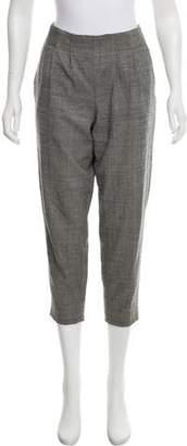 Nili Lotan High-Rise Straight-Leg Pants