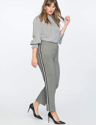Slim Leg Trouser With Side Stripe