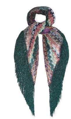 Missoni Fringe-trimmed scarf