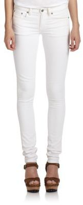 Polo Ralph Lauren White Skinny Jeans $125 thestylecure.com