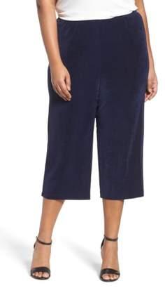 Vikki Vi Stretch Knit Crop Pants