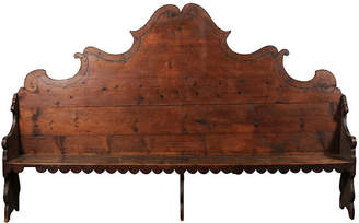One Kings Lane Vintage Italian Hall Bench - Heather Cook Antiques