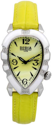 Tea Collection AquaSwiss Dedia Women's Lily Diamond Watch