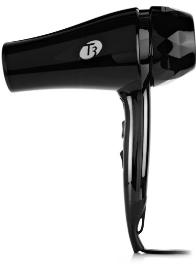 T3 Tourmaline T3 - Featherweight Luxe 2i Dryer - Us 2-pin Plug - Black
