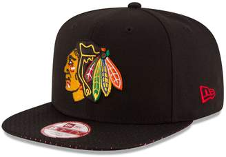 New Era Adult Chicago Blackhawks 9FIFTY Shine Through Adjustable Cap