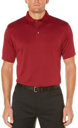 Hogan Ben Men's Performance Short Sleeve Textured Golf Polo Shirt