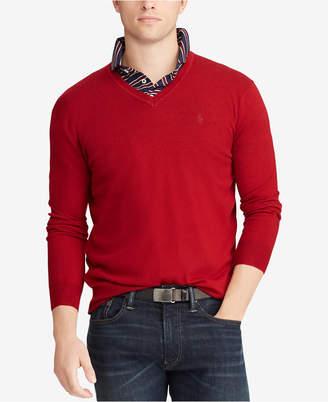 Polo Ralph Lauren Men Merino Wool V-Neck Sweater