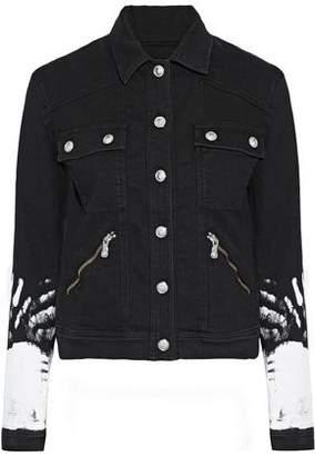 Versace Painted Denim Jacket