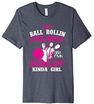 Premium Bowling Girl Shirt For Women Who Love To Bowl