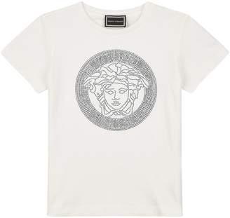 Versace Diamanté Medusa T-Shirt