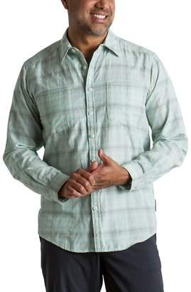 Exofficio BugsAway Poros Plaid Long-Sleeve Shirt - Men's