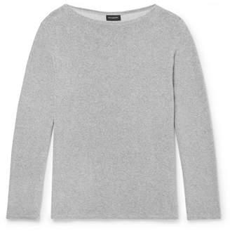Ermenegildo Zegna Cotton-Blend Terry T-Shirt