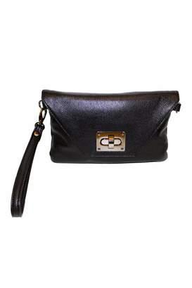 Sondra Roberts Leather Wristlet Purse