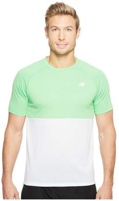 New Balance CBK Breather Short Sleeve Men's Clothing