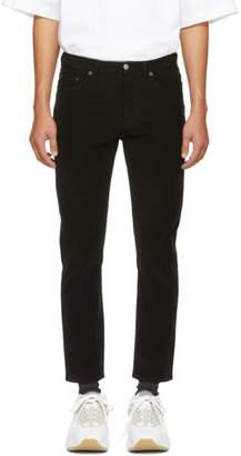 Acne Studios Black Bla Konst Corduroy River Trousers