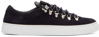 Diemme Navy Suede Marostica Low Sneakers