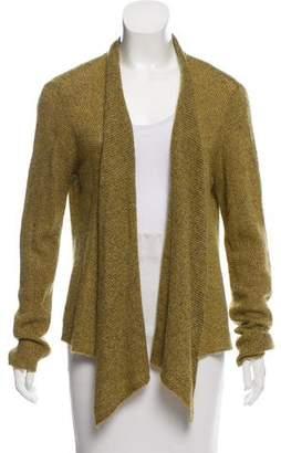 Eileen Fisher Open Front Wool-Blend Cardigan