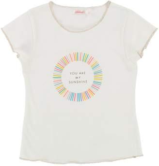 Billieblush Girls Slogan Print Short Sleeve T-shirt