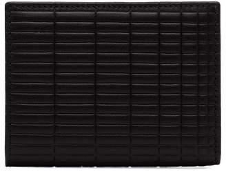 Comme des Garcons black Brick Leather Wallet