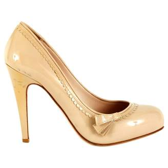 Miu Miu Beige Patent leather High Heel