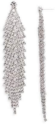 Aqua Pavé Chandelier Earrings - 100% Exclusive