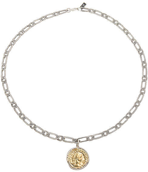 Child of Wild Aurelian Coin Necklace