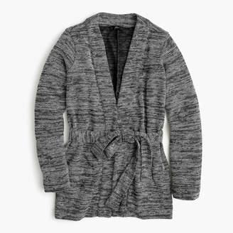 J.Crew Textured long cardigan sweater