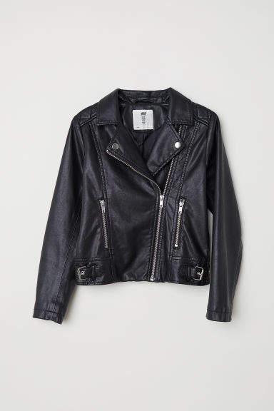 H&M - Biker Jacket - Black