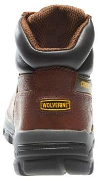 """Wolverine Men's Guardian Carbonmax 6"""" Safety Toe Work Boot"""