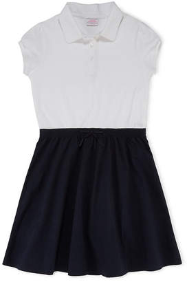 Izod EXCLUSIVE Cap-Sleeve Polo Dress - Preschool Girls 4-6x