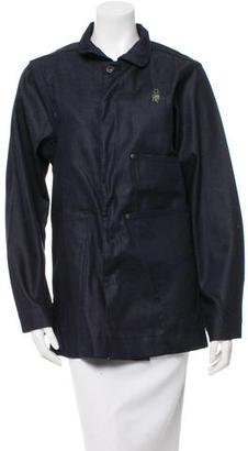 G Star Raw Denim Oversize Jacket w/ Tags $110 thestylecure.com
