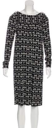 Milly Long Sleeve Midi Dress