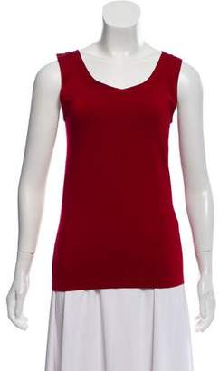 Wolford Scoop-Neck Sleeveless Top