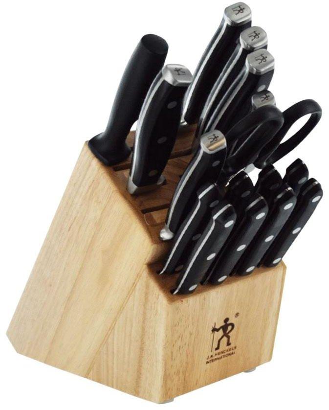 Zwilling J.A. Henckels J.A. Forged Premio 17-Piece Block Knife Set