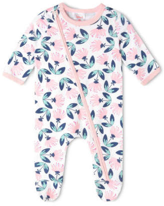 Sprout NEW Girls Long Sleeve Coverall White
