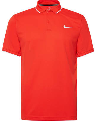 84dfa5f91d1b2 Nike Tennis - NikeCourt Dri-FIT Tennis Polo Shirt - Men - Tomato red