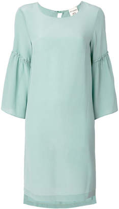 Semi-Couture Semicouture bell sleeve mini dress