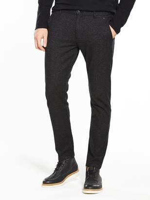 Selected Structured Slim Trousers