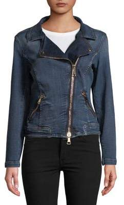 Marina Rinaldi Ashley Graham x Cartoon Denim Jacket
