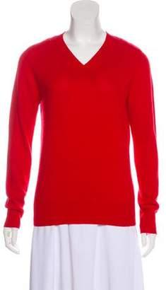 MM6 MAISON MARGIELA Wool V-Neck Sweater